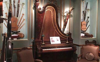 El precio de los instrumentos musicales antiguos.